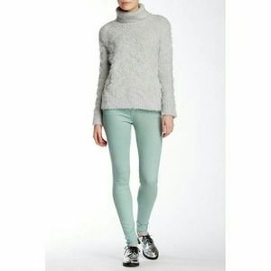 MOTHER The Looker Painted Ladies Skinny Jeans